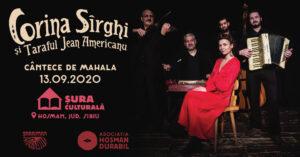 Afis Jean Americanu & Corina Sîrghi